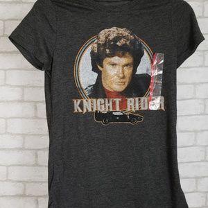 🔮Knight Rider Graphic Tshirt David Hasselhoff XS